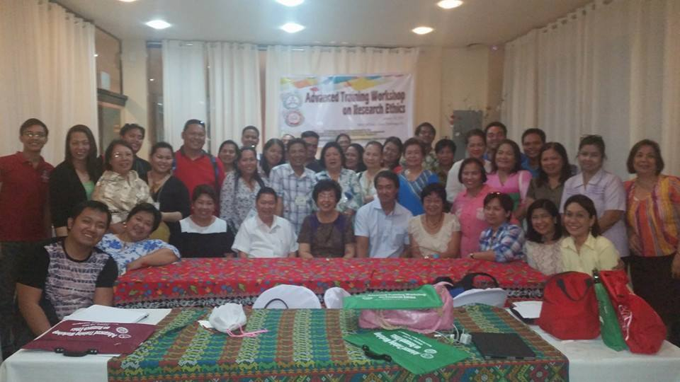 Participants together with the resource speakers and organizers